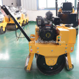Single Drum Road Roller (FYL-700)를 가진 도보 Behind Vibrating Roller