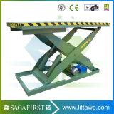 1ton 2ton 1m hydraulische Rollen-zum hölzernen Förderanlagen-Tisch-Aufzug