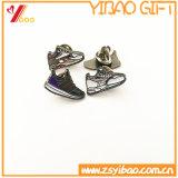 Pin de chaussure d'émail de couleur de Cutom avec noir plaqué (YB-SM-05)