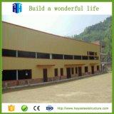 Almacén prefabricado del edificio de dos pisos de la estructura de acero del marco del espacio