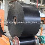 Bande de conveyeur en caoutchouc de cordon en acier utilisée sur l'industrie houillère