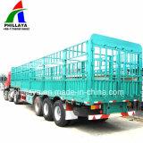 Compartimento de granel Truck semi reboque / atrelado de gado para venda
