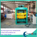 Bloc de pavage concret du matériel Qtj4-25 de brique de construction de Chambre faisant la machine à Philippines