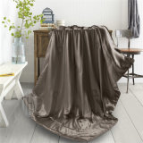 Tecido de seda 135X150cm e cobertores de enchimento