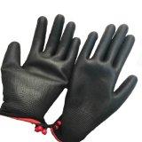 Черный провод фиолетового цвета с покрытием черного цвета нейлоновые трикотажные Anti-Static перчатки
