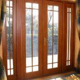 Toma gute Qualitätselegantes plattiertes hölzernes Aluminiumfenster