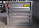 отработанный вентилятор фабрики волокна тканья 380-50Hz-3phase установленный стеной