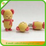 USB Flash Drive de moda personalizada de goma para la Promoción (SLF-RU004)