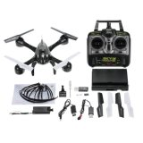 4CH 6-as 1335s-2.4G Transmissie de In real time RC Quadcopter van de Camera HD van Fpv 5.0MP van de Gyroscoop 5.8g