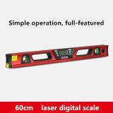 Ferramentas de medição de construção 600mm de comprimento Instrumento de nível automático