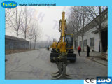 360 Degré Journal de bois bois rotatoire Grab pour excavatrice