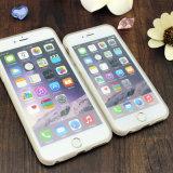 Caja móvil del teléfono celular de la cubierta disponible del iPhone de la aduana del modelo