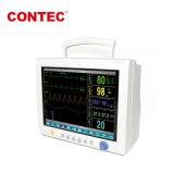 Cms Contec7000plus grande personagem e Interface View Bed. Em uma tela multiparamétricas, pela 3G, Wi-Fi ou monitor de paciente no modo com fio