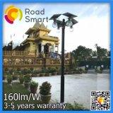 Intelligent 4W-12W LED LED de energia solar Jardim candeeiros de rua