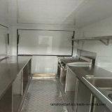 عربة سكنيّة إنتقال طعام مقطورة لأنّ عمليّة بيع أوروبا [إيس كرم] آلة طعام عربة