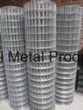 熱い浸された電流を通された構築によって溶接された金網か塗られた電流を通された正方形の金網または電流を通された/PVCは金網を溶接した