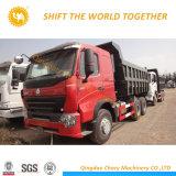 Sinotruk HOWO A7 371HP 쓰레기꾼 트럭 6X4 10 짐수레꾼 덤프 트럭
