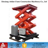 Plataforma de elevação elétrica estacionária hidráulica