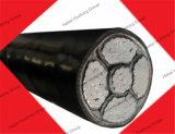 セリウムのPsb ISOは3コア25mm2アルミニウムコンダクターXLPEを絶縁され、PVCによっておおわれる地下の電源コード証明する