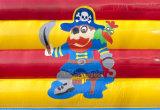 Piraten-Schloss-aufblasbares Prahler-Haus für Kinder CB0701