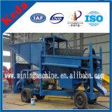 Máquina de Trommel de arrumação de ouro aluvial personalizada para venda