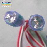 9mm 녹색 LED 끈 가벼운 광고 화소 빛