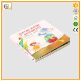 Alta stampa del libro della scheda dei bambini di Qaulity