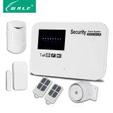 Het draadloze GSM van de Veiligheid van het Huis Systeem van het Alarm met Androïde Steun & Ios APP