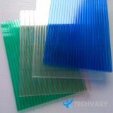 Folhas de policarbonato Sol PC 100% virgem Folha de policarbonato de resina
