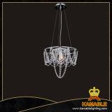 Dekorativer Transprarent Glasstahlleuchter-hängende Beleuchtung (MD4171-400T)