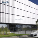 Frontières de sécurité en aluminium d'auvent de Sun de frontière de sécurité de lamelle pour la construction extérieure