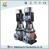 Hoher Aufzug-mehrstufige vertikale chemische Edelstahl-Pumpe
