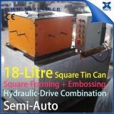 注文仕立て18L 5ガロンの鋼鉄正方形のバケツはでき組合せを形作ることをする