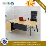 Dunkle graue Bescheidenheit-Panel-Tisch-Schreibtisch-Hotel-Büro-Möbel (UL-MFC357)
