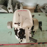 Máquina de costura usada de Overseam da alimentação dourada do disco da máquina de Strobel da roda