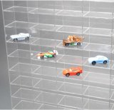 Armadietto di esposizione acrilico su ordinazione per le automobili di modello