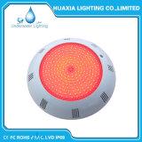Indicatore luminoso subacqueo della lampada variopinta LED della piscina del FCC IP68 12V di RoHS del Ce per il raggruppamento