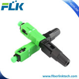 FTTH/FTTX Sc/APCのファイバーまたは繊維光学か光学速い現場組立はコネクター絶食する