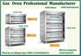 Tegen Hoogste Commercieel Gebakken Gas van uitstekende kwaliteit 1 Dek 1 van de Apparatuur de Oven van het Dienblad met Ce