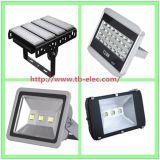 220V/110Vの白くか黒いIP67 MWドライバー7年の保証LEDのフラッドライトの製品
