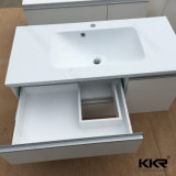 600/900/1200/1500mmの石造りの樹脂の浴室の家具のキャビネットの洗面器