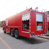 Sino HOWO 20 톤 화재 전투 수송기 또는 소방차 트럭