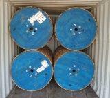 cavo elettrico di rame di 0.6/1kv 4X120+70mm2 PVC/PVC Sta