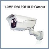 1.0MP caméra de sécurité imperméable à l'eau de télévision en circuit fermé de réseau de remboursement in fine d'IP Poe IR