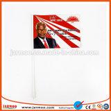 Логотип деловых обедов футбольного клуба большой флаг портативного устройства