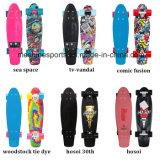 Neuer 22 Zoll-Plastikfisch-Skateboard