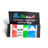 Ferro di marca poco costoso sul contrassegno tessuto per il tessuto vestiti/dell'indumento