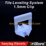De concrete Plastic VinylTegel van het Systeem van de Grootte van de Vloer Standaard Nivellerende
