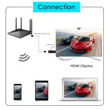 5G sem fio TV Dongle Airplay Miracast Stick Receptor Adaptador HDMI