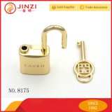 Дамскую сумочку блокировки оборудования Роскошь золота металла декоративной замок с ключом